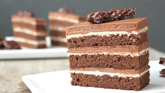 Brandy Vanilla Layer Cake Recipe